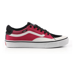 Vans TNT Advanced Prototype Skate Shoe - Black / Magenta / White