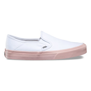 Vans Women's SF Slip-On Shoe - Evening Sand/White