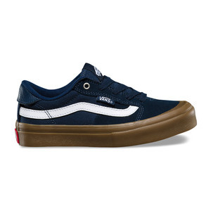 Vans Style 112 Youth Skate Shoe - Navy/Gum/White