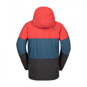 Volcom Captain Insulated Snowboard Jacket 2017 - Fire Red