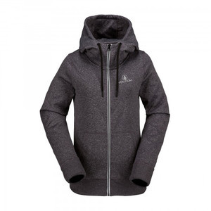 Volcom Cascara Women's Fleece Hoodie - Deep Purple