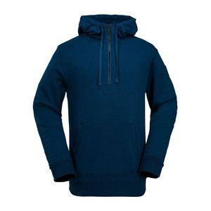 Volcom Clinton Fleece Hoodie - Blue/Black