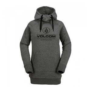 Volcom Costus Women's Fleece Hoodie - Heather Grey