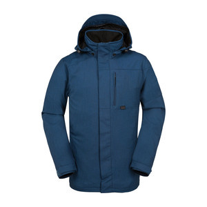 Volcom Jan Snowboard Jacket 2017 - Blue/Black