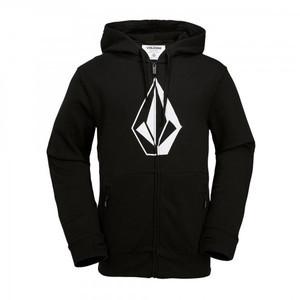 Volcom JLA Stone Zip Fleece Hoodie - Black