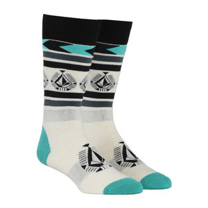 Volcom Spear Women's Snowboard Sock - Teal