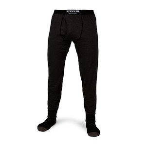 Volcom Wool Base Layer Pant - Heather Black