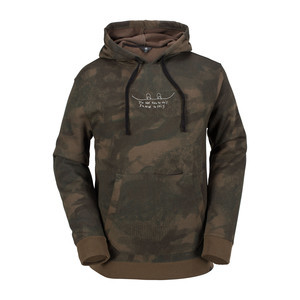Volcom JLA Pullover Fleece Hoodie 2018 - Camo
