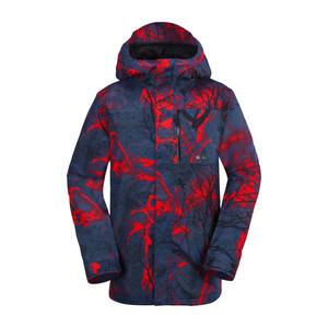 Volcom L Gore-Tex Snowboard Jacket 2018 - Black Print