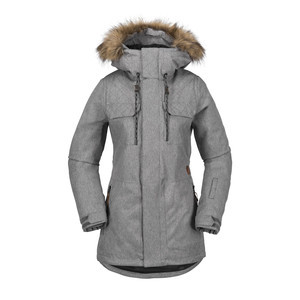 Volcom Women's Shadow Insulated Jacket 2018 - Heather Grey