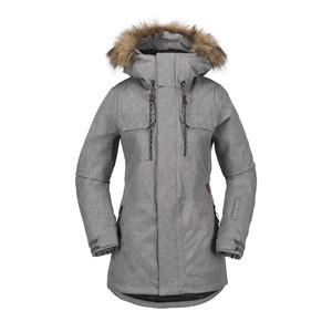 Volcom Women's Shadow Insulated Jacket 2018 - Heather Grey