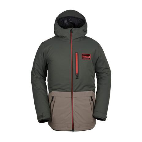 Volcom Analyzer Snowboard Jacket 2019 - Black/Green
