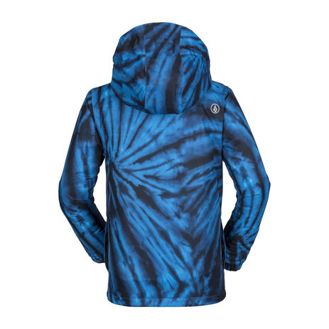 Volcom Ripley Insulated Youth Snowboard Jacket 2019 - Blue Tie-Dye