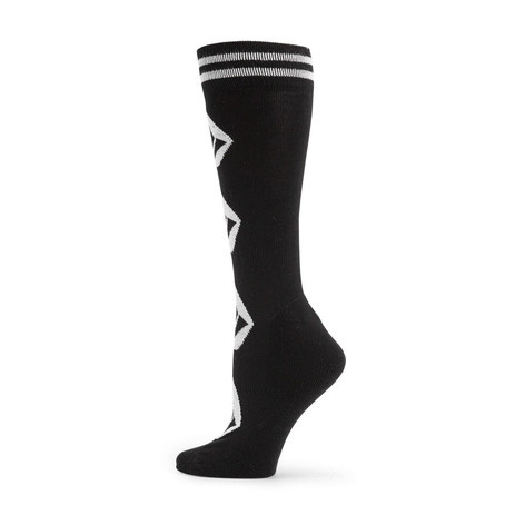 Volcom Women's Sherwood Snowboard Sock - Black