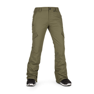 Volcom Bridger Insulated Women's Snowboard Pant 2019 - Military