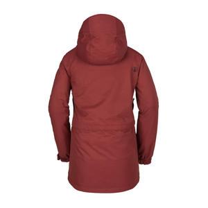 Volcom Leeland Women's Snowboard Jacket 2019 - Burnt Red