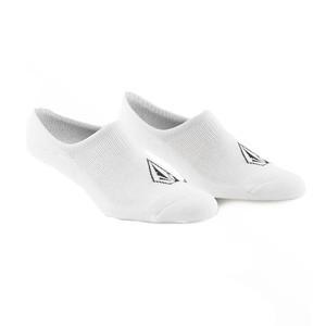 Volcom Stone No-Show Socks - White - 3 Pairs