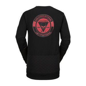 Volcom Pat Moore Fleece Crewneck 2019 - Black