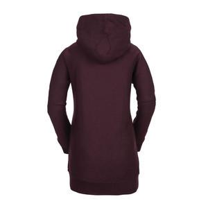 Volcom Fleece Women's Riding Hoodie 2019 - Merlot