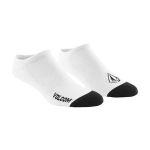 Volcom Stone Ankle Socks - White - 3 Pairs
