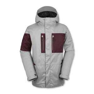 Volcom Half Square Snowboard Jacket - Grey