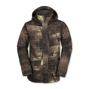 Volcom Mails Insulated Snowboard Jacket - Sepia