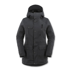 Volcom Manifest Insulated Women's Snowboard Jacket - Charcoal