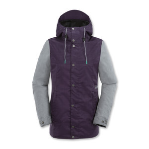 Volcom Stave Women's Snowboard Jacket - Purple