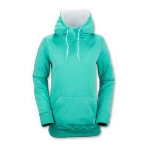 Volcom Yerba Women's Fleece Hoodie - Glacier Blue