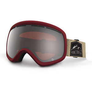 VonZipper Skylab Snowboard Goggles - Red/Persimmon Chrome