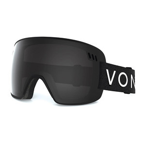 VonZipper ALT Snowboard Goggles 2017 - Black/Grey Chrome