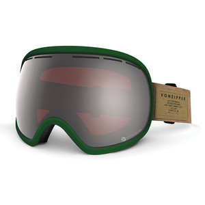 VonZipper Fishbowl Snowboard Goggles 2017 - SIN Hunter Green/Persimmon Chrome