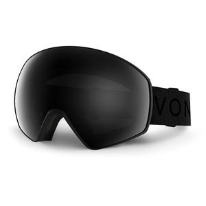 VonZipper Jetpack Snowboard Goggles 2017 - Black Satin/Blackout