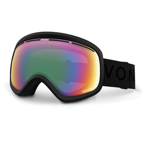 VonZipper Skylab Snowboard Goggles 2017 - Black Satin/Wildlife Black
