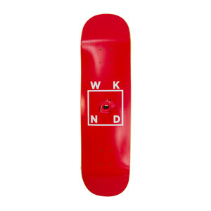 "WKND Red Lips 8.5"" Skateboard Deck"