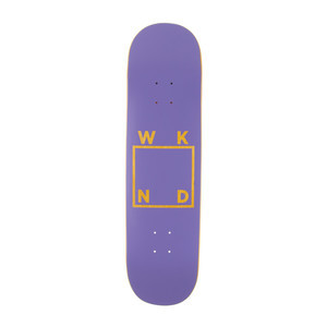 "WKND Logo 8.25"" Skateboard Deck - Purple"