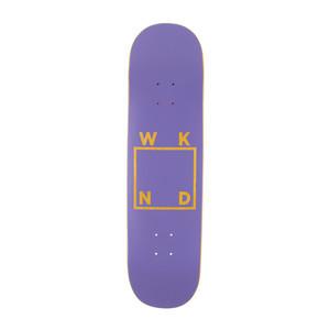 "WKND Logo 8.25"" Skateboard Deck - Purple"