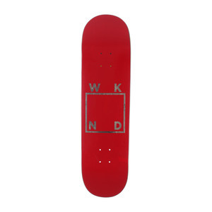 "WKND Logo 8.25"" Skateboard Deck - Red"