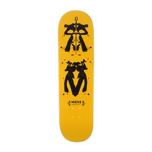 "WKND Gillette Rorschach 8.25"" Skateboard Deck"