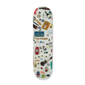 "WKND Taylor I-Spy 8.25"" Skateboard Deck"