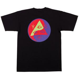 Welcome Balance T-Shirt - Black/Purple/Red