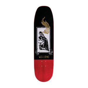"Welcome American Idolatry 8.75"" Skateboard Deck - Gold"