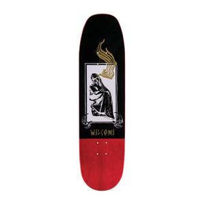 "Welcome American Idolatry 8.75"" Skateboard Deck - Gold"