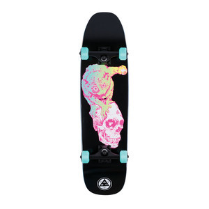 "Welcome Loris Loughlin 8.25"" Complete Skateboard - Black"