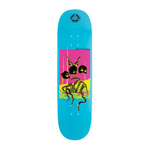 "Welcome Townley Masquerade 8.5"" Skateboard Deck - Blue Dip"