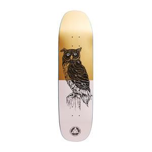 "Welcome Black Beak 8.25"" Skateboard Deck - Pink/Gold"