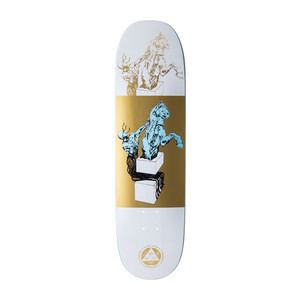 "Welcome Hierophant 8.5"" Skateboard Deck - White/Gold"