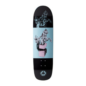 "Welcome Hierophant 8.38"" Skateboard Deck - Black"