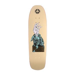 "Welcome Magic Bunny 9.0"" Skateboard Deck - Yellow"