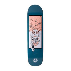 """Welcome Stoker 8.5"""" Skateboard Deck - Deep Blue"""